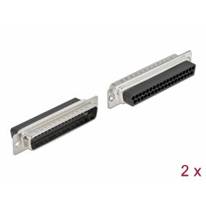 D-Sub 37 pin (M), pressitav, 2tk/pakk