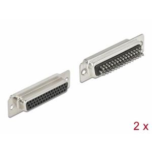 D-Sub HD 44 pin (F), joodetav, 2tk/pakk