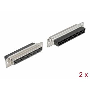 D-Sub 37 pin (F), pressitav, 2tk/pakk