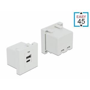 Moodul Easy 45 1x USB-A 1x USB-C laadimispesa