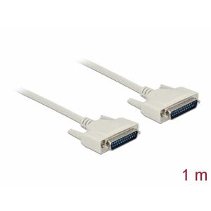 Serial kaabel DB25M - DB25M 1.0m