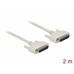 Serial kaabel DB25M - DB25M 2.0m