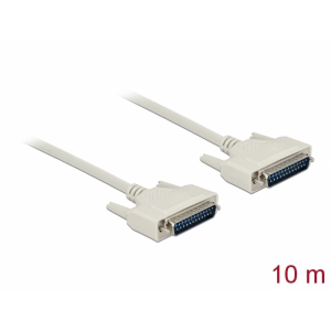 Serial kaabel DB25M - DB25M 10.0m