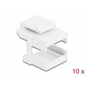 Keystone raam FO adapteritele, valge, 10.tk/pakk...