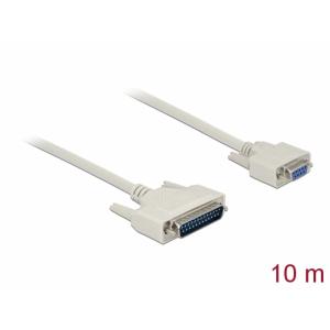 Serial kaabel DB25M - DB9F 10.0m