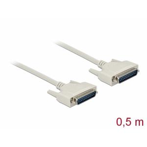 Serial kaabel DB25M - DB25M 0.5m