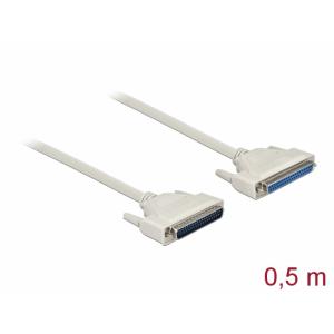 Serial kaabel DB37M - DB37F 0.5m