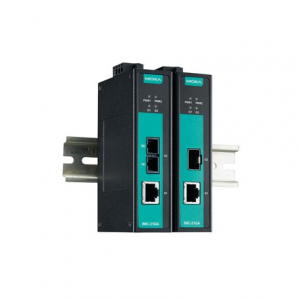 Tööstuslik konverter: 10/100/1000BaseT(X) to 100/1000BaseSX, single mode, SC, 010km, -40 kuni 75°C