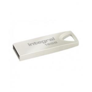Mälupulk Integral ARC, USB 2.0, 16GB, Hõbe...