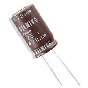 Elektrolüüt kondensaator 470uF 63V 85°C 18x35,5mm, Elna SILMIC II Audio seeria