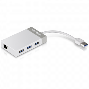 Võrgukaart: USB 3.0, 10/100/1000Mbps +  3xUSB 3.0 HUB
