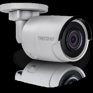 IP kaamera: öö / päev (öösel kuni 30m), 8MP 3840 x 2160@20fps H.264+, D-WDR , IP66, PoE, MicroSD, bullet