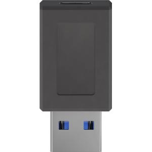 Üleminek USB 3.0 A (M) - USB-C (F) , must, max 5 Gbit/s