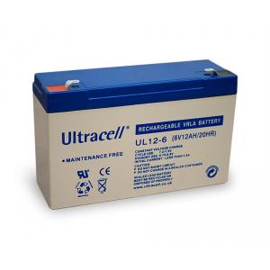 Pliiaku 6V 12Ah Ultracell (UL12-6)