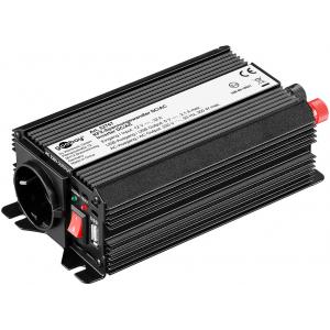 Inverter DC/AC 12V/230VAC 300W, USB-port, sisseehitatud vent