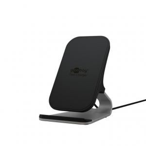 Wireless telefoni kiirlaadija, 5V 15W, must