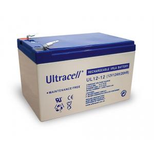 Pliiaku 12V 12Ah VDS Ultracell (UL12-12)  151x98x95mm