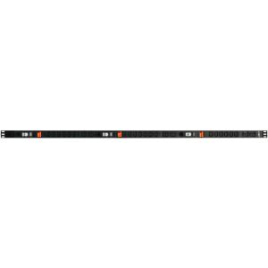 Toitepaneel vertikaalne 18xC13 + 6xC19 32A/250V, kolmefaasiline, 3m