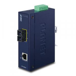 Tööstuslik konverter: 10/100BaseT(X) to 100BaseF...