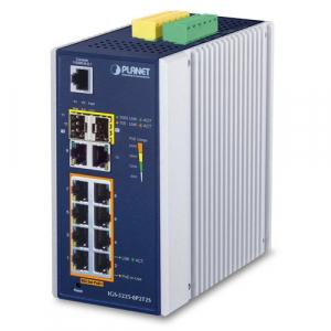 Switch: 8 x 10/100/1000Mbps PoE+, 2 x 10/100/1000M...