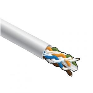 Keerdpaarkaabel Cat6 FTP 4x2x0,5 ühekiuline PVC valge 305m/kast