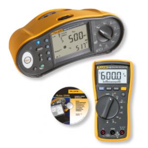 Elektriinstallatsiooni, maandustakistuse ja isolatsioonitester+Multimeeter, komplekt