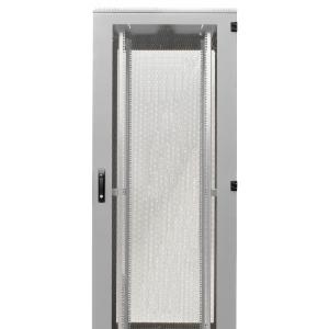 Seadmekapp 42U 1980x800x800 k,l,s, perforeeritud uksed, kandevõime kuni 1000kg, hall, STANDARD III