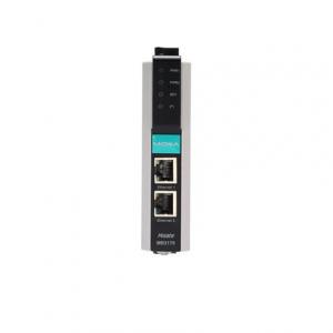 Modbus Serial to 1 x100BaseF(X) multi-mode ST, -40 kuni 75°C