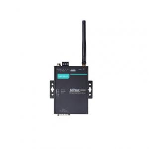 RS-232/422/485 802.11a/b/g WLAN Server, 2 porti, 0 kuni 55°C