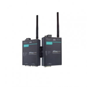 RS-232/422/485 802.11a/b/g WLAN Server, 1 port, 0 kuni 55°C