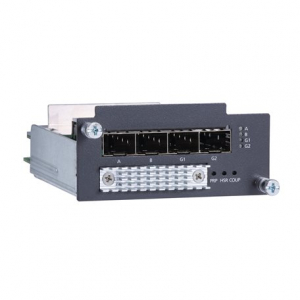 Moodul PT- / IKS- seeria switchidele: 4 x 100/1000Base SFP slots, PRP/HSR protocol support