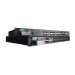 IEC 61850-3 modulaarne switch:20x100BaseFX porti (MST), 4x10/100BaseT (X) porti,4x1000BaseSFP porti, 2x88-300VDC või 85-264VAC, 40 kuni 85°C