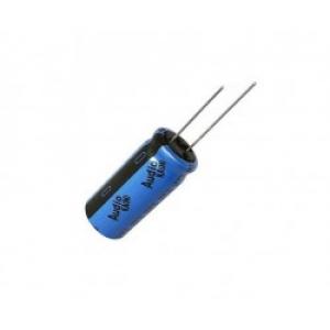 Elektrolüüt kondensaator 220uF 50V 105°C 10x12,5mm, UKA Audio seeria