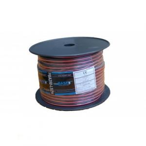 Kõlarikaabel 2x2,5mm2 punane+must LSZH 100m/rull
