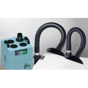 FUME EXTRACTOR, 2 SUCTION ARMS