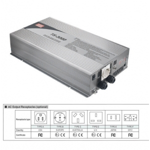Inverter DC/AC 12VDC 3000W puhta siinusväljundiga