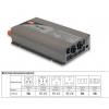 Inverter DC-AC 700W 10.5~15V-230V 50Hz, puhta siinusväljundiga