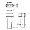 Kvarts 16MHz  HC49/U4 (madal) 20pF 50/50ppm