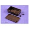 Plastkarp.60x35x17mm, must IP54 ABS