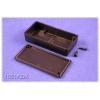 Plastkarp.80x40x17mm must IP54 ABS