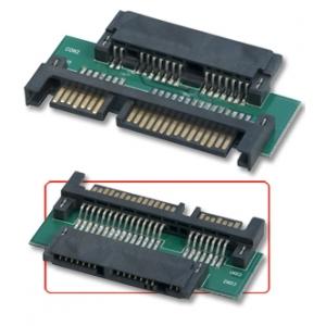 Üleminek Micro SATA Data + Power - SATA Data + Power Adapter 3.3V/5V