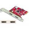 PCIe kaart, Power over eSATA, 2 porti, USB funktsiooniga