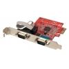 RS-232 PCIe kaart, 2 porti