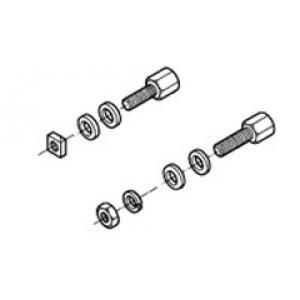 D-pistiku kinnituskomplekt 4-40 UNC