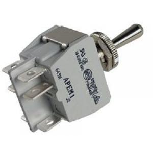 APEM 649H/2 Tumblerlüliti 2x ON-OFF-ON 10A 250VAC