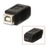 Üleminek USB 2.0 B (F) - Micro B (M)