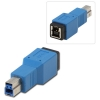 Adapter USB 3.0 B (M) - B (F)