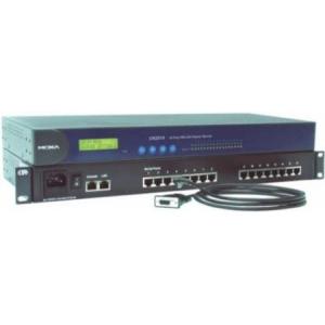 Serial seadmete server, RS-232 x 8 porti, 100 - 240 VAC toide