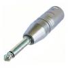 Üleminek 3XLR pistik - 6,3mm (mono) pistik