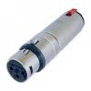 Üleminek 3XLR pesa - 6,3mm (stereo) pesa